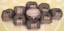 """$70 Lot--10 Skeins Nashua April Cotton """"Denim"""" Yarn + Free Gift!"""