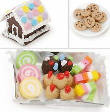 SWEET PARTY:COOKIES, CANDIES AND GINGERBREAD, Dollhouse Diorama
