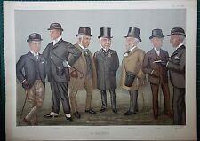 1896 VANITY FAIR DOUBLE SIZED PRINT ~ ON THE HEATH JAMES JEWITT RICHARD MARSH