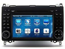 In Dash Car Stereo Radio DVD Player GPS Navigation For Mercedes-Benz Sprinter
