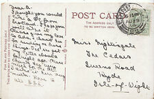 Genealogy Postcard - Ancestor History - Nightingale - Ryde - Isle of Wight U1943