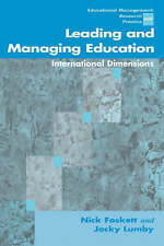 Leading and Managing Education: International Dimensions (Centre for Educationa