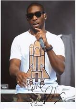 TINIE TEMPAH AUTOGRAPHED SIGNED A4 PP POSTER PHOTO