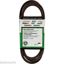 "954-04043A GENUINE MTD CUB CADET  DRIVE BELT Compatible With 754-04043 1/2""x 58"""