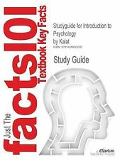 Outlines & Highlights for Introduction to Psychology by Kalat (2014,...