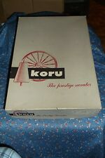 Older Koru The Prestige Sweater Box Only  Great Graphics 13 x 9 1/8 x 2 1/2 Inch