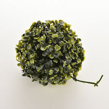 Pop Artificial 12cm Boxwood Buxus Topiary Balls Grass Plant Chain Hanging