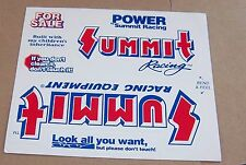 Decal / Sticker  Summit racing equipment