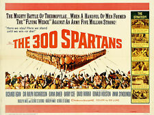 """The 300 Spartans 1962 16"""" x 12"""" Reproduction Movie Poster Photograph"""