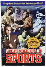 """GREAT MOMENTS IN SPORTS"" VINTAGE RADIO BROADCASTS (20 CD AUDIO DISCS) BABE RUTH"