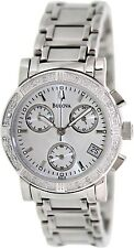 Bulova Women's 96R19 Mother-Of-Pearl Stainless-Steel Quartz Watch