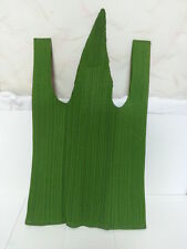 Green Grass Like Bag PLEATS PLEASE Issey Miyake VG