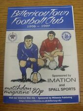 24/08/1996 Billericay Town v Abingdon Town  .  Thanks for viewing our item, we t