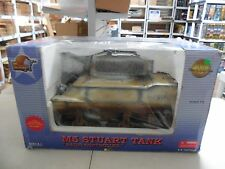 HUGE ULTIMATE SOLDIER WWII RADIO CONTROLLED M5 STUART 1:6 SCALE TANK NEW MIB