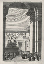President Grant Opening the Centennial Exposition - Memorial Hall   -  1876