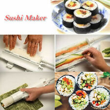 Home DIY Sushi Roll Maker Kit Sushezi Rice Roller Mold Chef Kitchen Mould Tool