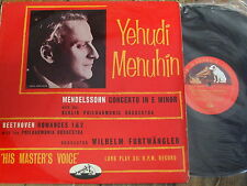 ALP 1135 Mendelssohn Violin Concerto in E minor etc. / Menuhin R/G