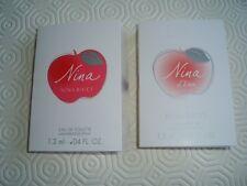 NINA RICCI MIX NINA & NINA L'EAU 2 X SAMPLES STOCKING FILLERS