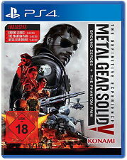 Metal Gear Solid V-The Definitive Edition: Phantom Pain+Ground Zeroes - PS4 -OVP