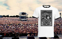 Oasis Knebworth Morning Glory Band Ringer Music Tour Top Tee T-shirt All Sizes