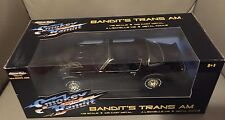 SMOKEY AND THE BANDIT-BANDITS TRANS AM-1/18-AMERICAN MUSCLE-ERTL-NRFB