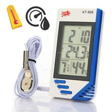 New In/Out LCD Digital Temperature Humidity Meter Thermometer Hygrometer °C / °F