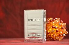 GIORGIO ARMANI ATTITUDE EDT 50 ml., DISCONTINUED, RARE, NEW IN BOX, SEALED