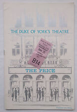 THE PRICE.ARTHUR MILLER.PROGRAMME TICKET 25-6-68 ?.ALAN WHITE.BETH HARRIS.GARY