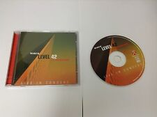 Level 42 : The Sun Goes Down: the Best of...Live in Concert CD (2004)