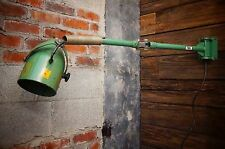 "Vintage Industrial ""OC White""-Type Lamp Light Wall Mount Machine Age Adjustable"