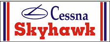 A050 Cessna Skyhawk Airplane banner hangar garage decor Aircraft signs