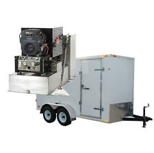 New 18HP Carpet, Tile, & Air Duct Cleaning Equipment Machine Cleaner Trailer Pkg