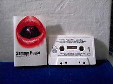 Sammy Hagar Three Lock Box 1982 CASSETTE TAPE 10 tracks