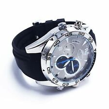 16GB 1080P Mini Spy Camera Watch DVR Waterproof Hidden Recorder IR Night Vision