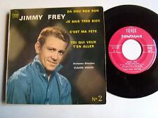"JIMMY FREY : Da dou ron ron  (orch CLAUDE VASORI) 7"" EP TIERCE PANORAMA no 2"