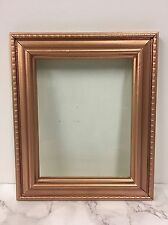 Vintage Square Ornate Copper Rose Gold Rococo/Baroque French Gilt Picture Frame
