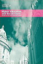 Higher Education and Social Class: Issues of Inclusion and Exclusion-ExLibrary