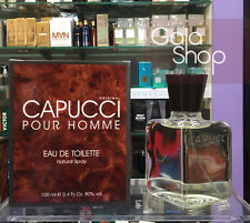 CAPUCCI POUR HOMME EAU DE TOILETTE 100ML PROFUMO UOMO EDT NATURAL SPRAY