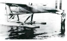 CURTISS SCHNIEDER CUP RACER NAVY SEAPLANE BIPLANE AIRPLANE RT VIEW 5X7 B&W PHOTO