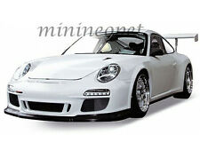 WELLY 18033 PORSCHE 911 997 GT3 CUP 1/18 DIECAST MODEL CAR WHITE