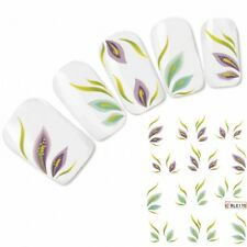 Nail Art Aufkleber Tattoo One Stroke Nagel Sticker Flower Blume Neu!