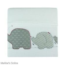 Bubba Blue PETIT ELEPHANT Reversible Bassinet Velour Blanket
