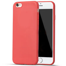 Matte Thin Shockproof Silicone Rubber Phone Bag Case Cover for iPhone 6 6s Plus+