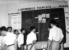 INDOCHINE HAUT COMMISARIAT FRANCE PHOTO PANNEAU DOCUMENTATION PRODUCTION AUTOS
