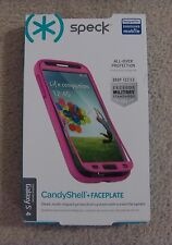 New Speck CandyShell + Faceplate Case for Samsung Galaxy S4 S 4 Pink SPK-A2657