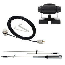 SP-7200 Tri-band 100W PL259 Radio Antenna+RB-400V Mount+RC316 5M Extension Cable