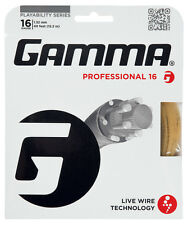 Gamma Live Wire Professional 1.32 mm 16 Tennis Stringhe Set