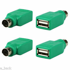 1PC USB Female in to PS2 Male Adapter Converter For Computer PC Keyboard Mouse