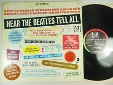 HEAR THE BEATLES TELL ALL / OMG ! / From 1979, on Vee-Jay Pro-202 / BEATLE TALK