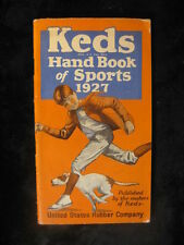 Vintage 1927 Keds Hand Book of Sports